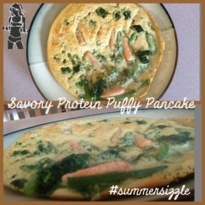 savory puff pancake